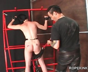Domination & submission sex slave in chains tantalized hardcore