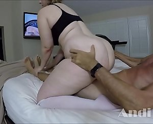 BUSTY BLONDE ANDI RAY FUCKING A MAN ALMOST TWICE HER AGE