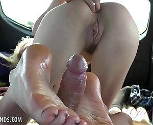 You cum in Haley Reed after you fuck her in the back seat
